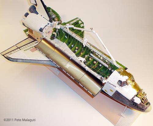 monogram space shuttle interior - photo #22