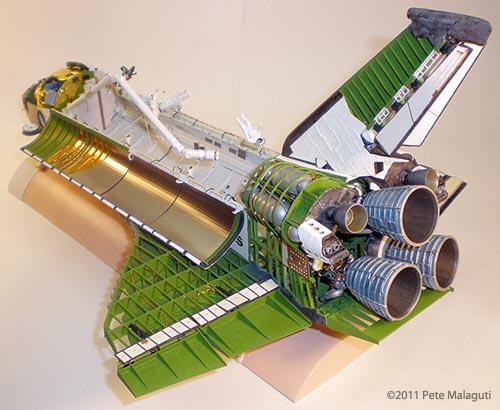 monogram space shuttle interior - photo #38