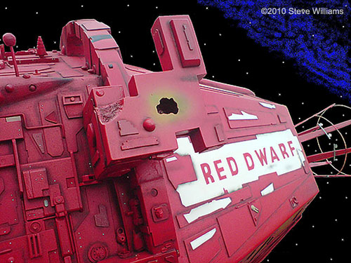 red dwarf ship model kit -#main